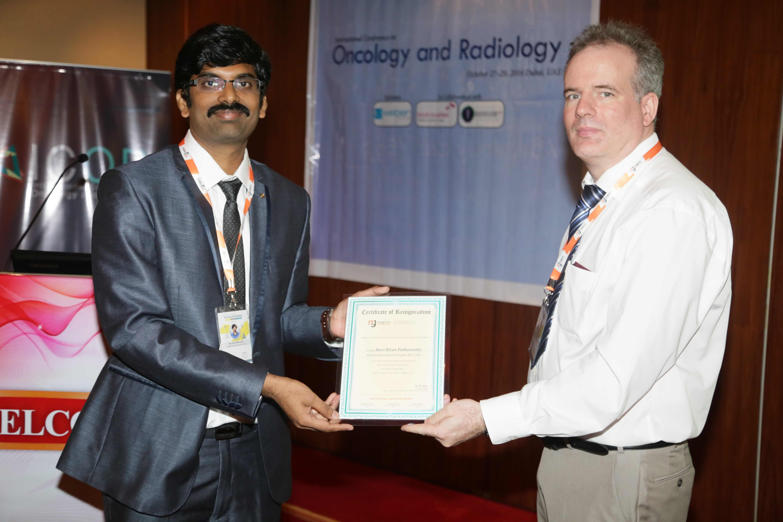 Cancer Conferences - Dr Ravi Kiran Pothamsetty