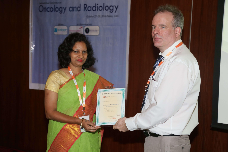 Cancer Congress - Dr. Rebekka Manohar Marri