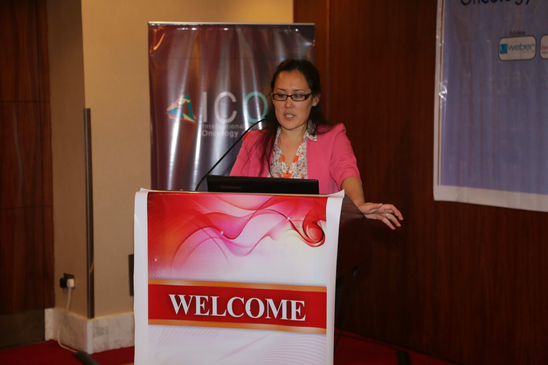 Cancer conference - Mrs. Orynbassar Karapina
