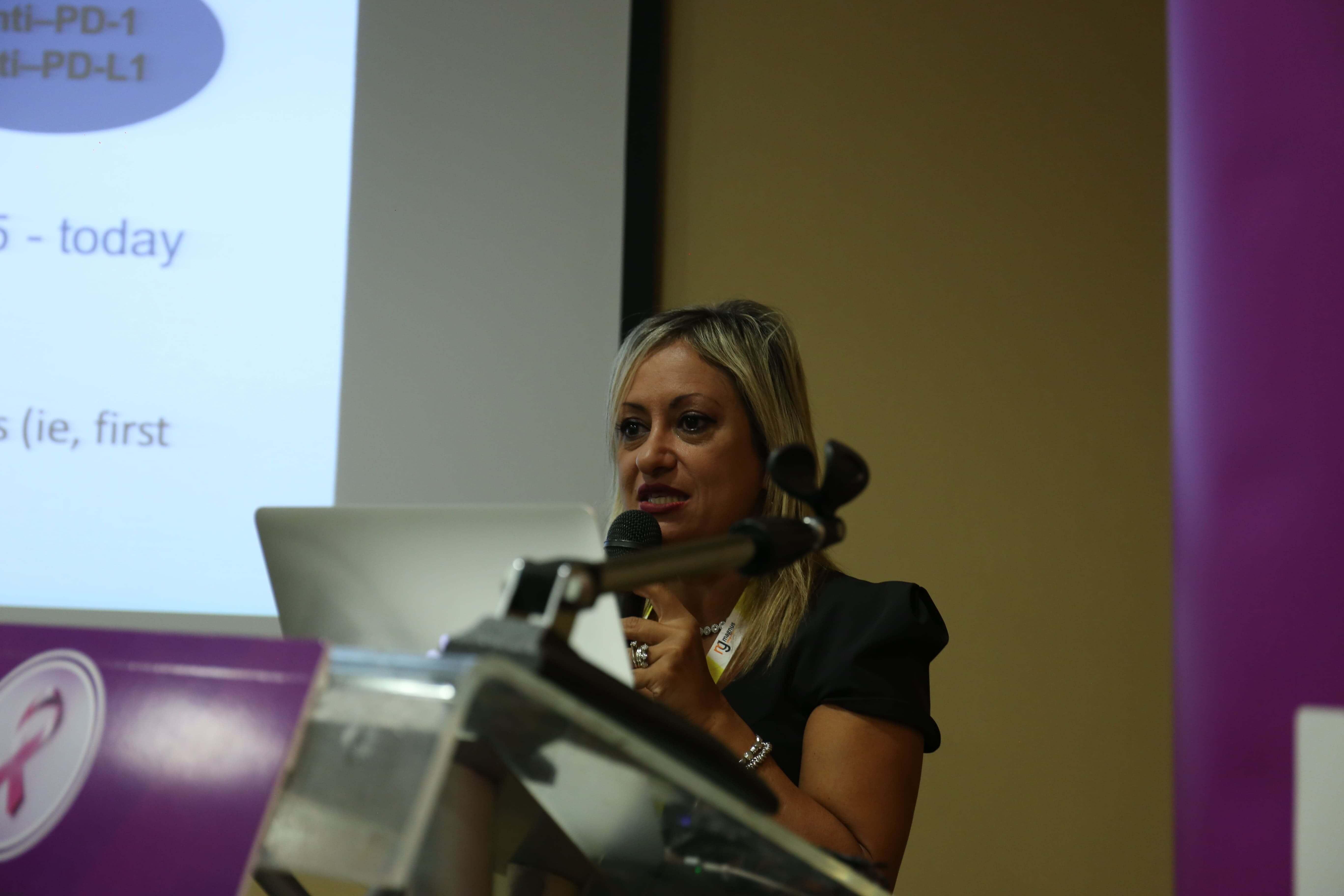 Cancer conference - Rossana Berardi