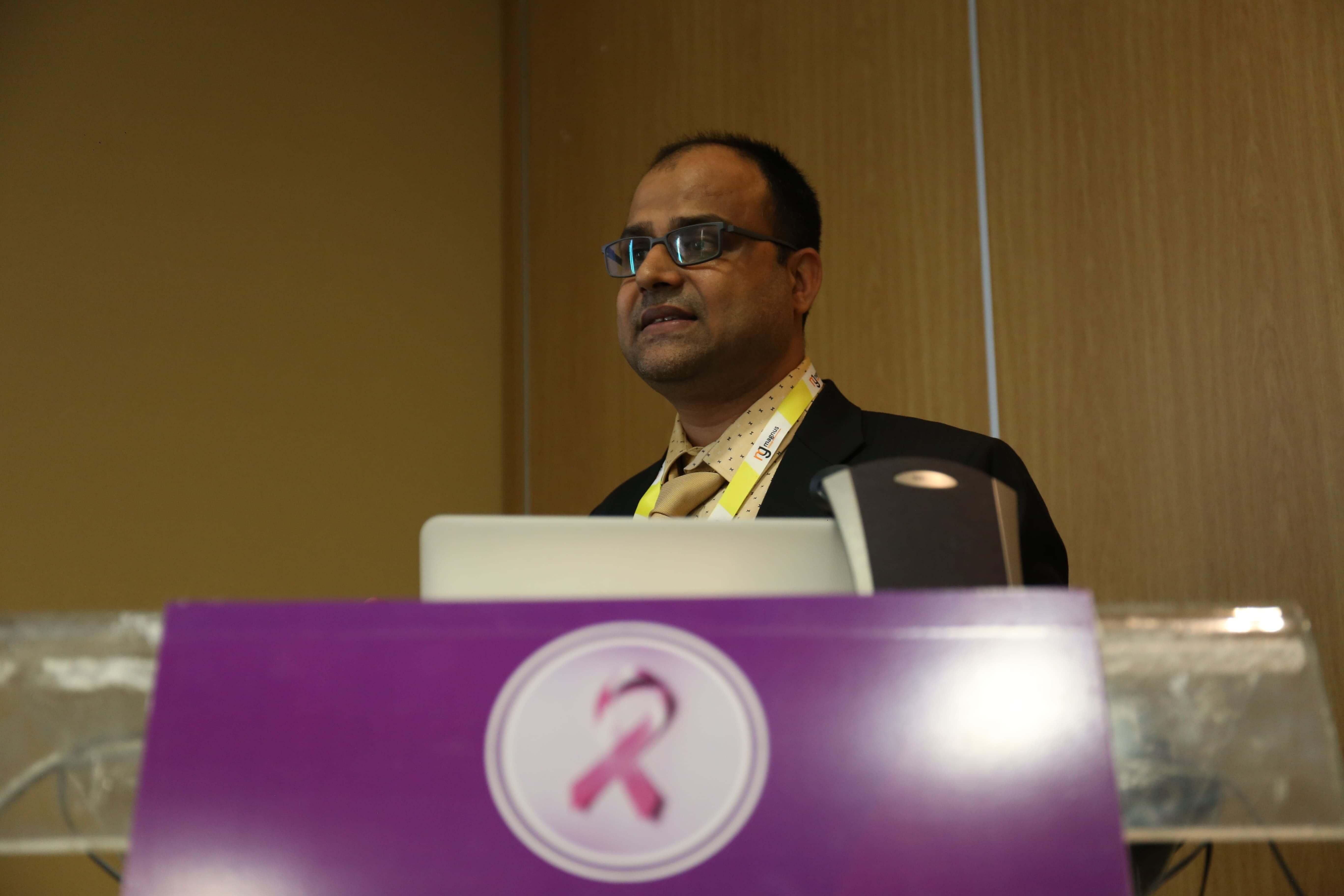 Cancer education conferences - Surajit Pathak