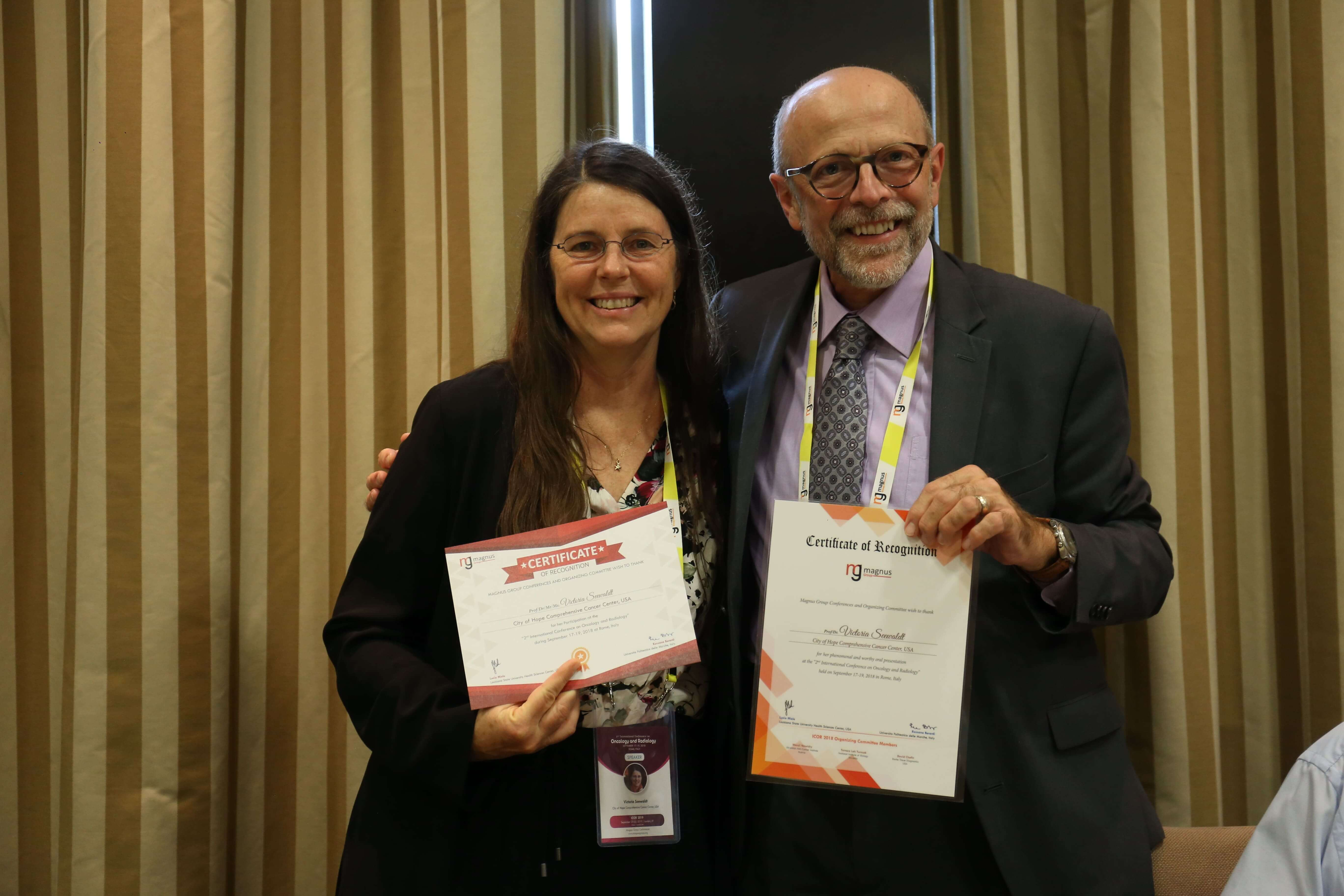 Cancer education conferences - Victoria Seewaldt
